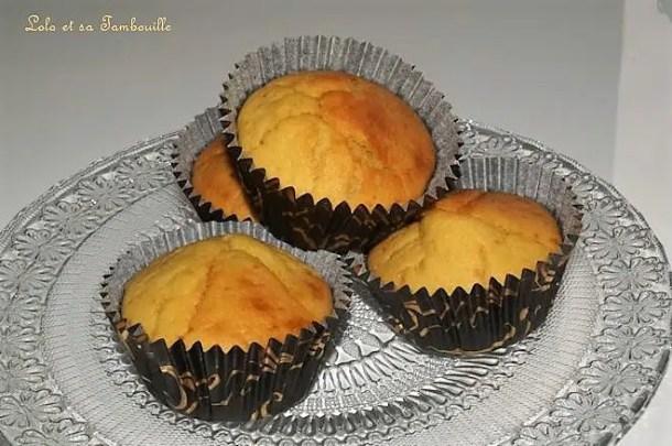 Muffins aux clémentines & fromage frais