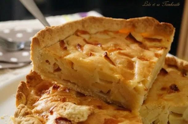 Tarte aux pommes gourmande (1)