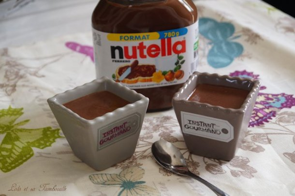 Crèmes au Nutella (2)