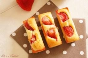 Financiers aux fraises (3)