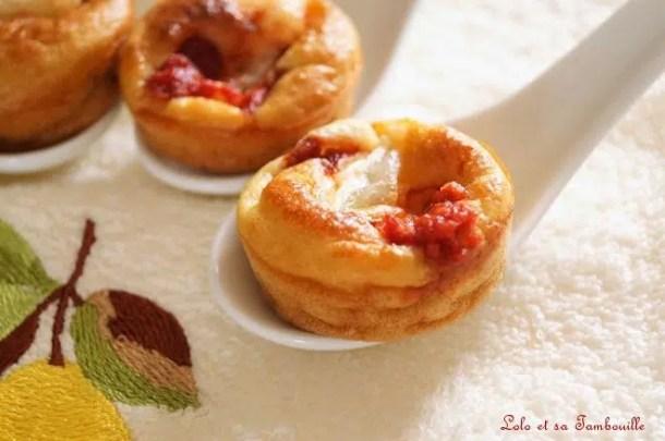Mini pizza express {au chèvre & tomate}
