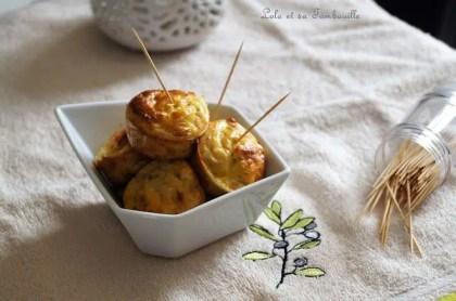 Bouchées au thon & fromage frais (2)