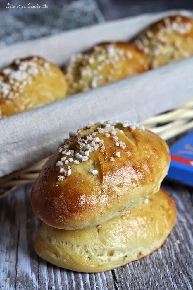 recette de pain au lait extra moelleux