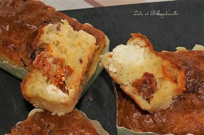 Cakes aux tomates séchées
