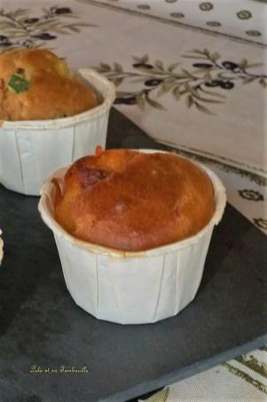 Muffins aux courgettes et curry et chorizo (3)