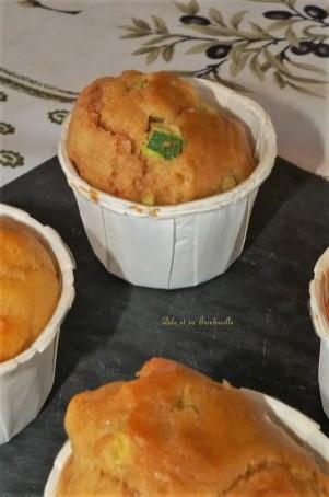 Muffins aux courgettes et curry et chorizo (4)