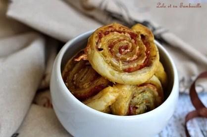 Roulés feuilletés au chorizo & pesto (1)
