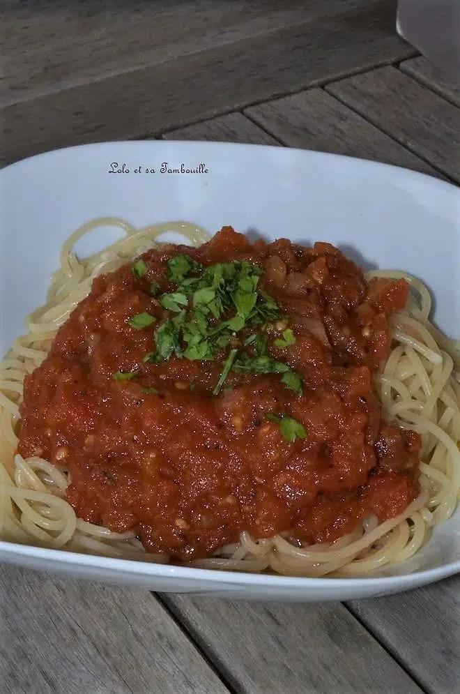 Sauce à l'italienne