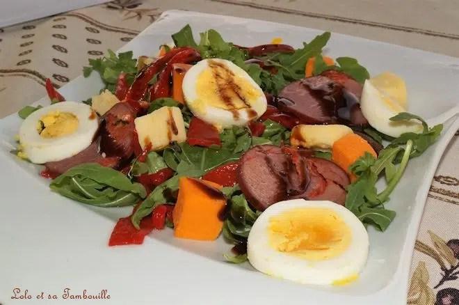 Salade aux piquillos
