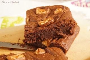 Brownie fondant aux snickers (3)