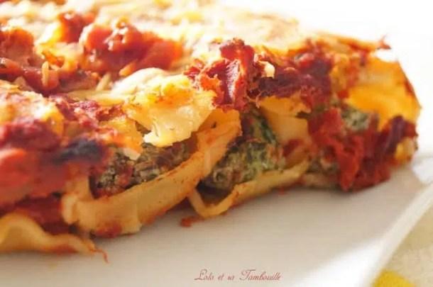 Cannellonis aux blettes & ricotta