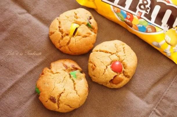 Cookies au beurre de cacahuètes & M&M's®