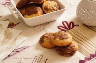 Cookies bicolores aux cacahuètes (1)