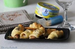 Croissants au thon & mozzarella (1)