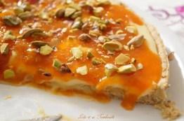 Tarte aux abricots & chocolat blanc {pâte sablée aux spéculoos (1)