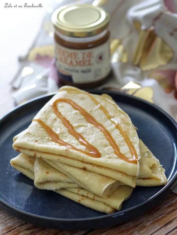 Crêpes au yaourt {sans lait}