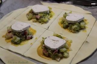 Feuilletés de poireaux & chèvre (2)