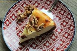 Cheesecake aux amandes caramélisées (1)