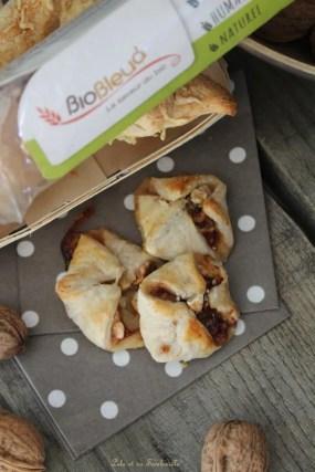 Feuilletés au camembert & noix (5)