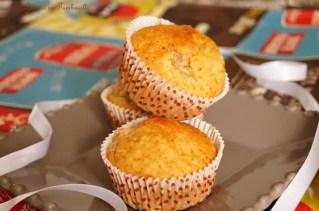 Muffins auxflocons d'avoine & poires (1)
