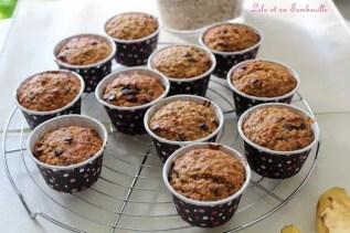 Muffins bananes & flocons d'avoine (2)