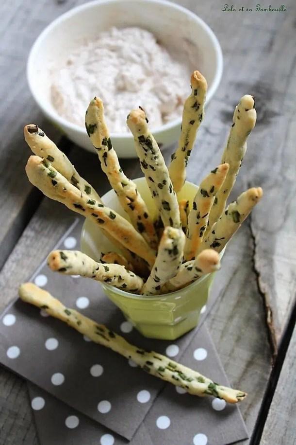 Gressins express {parmesan, citron & ciboulette}