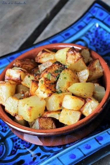 Batata Harra {pommes de terre épicées Libanaises} (1)