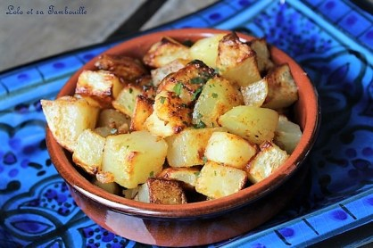 Batata Harra {pommes de terre épicées Libanaises} (5)