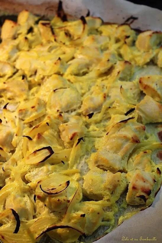 Poulet au safran & citron