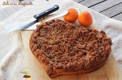 Clafoutis aux abricots, noisettes & crumble de spéculoos {façon Philippe Conticini} (2)