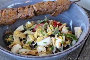 Salade de pâtes courgettes grillées & tomates cerises (5)