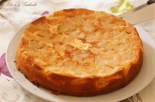 Gâteau moelleux au yaourt & pommes caramélisées (2)