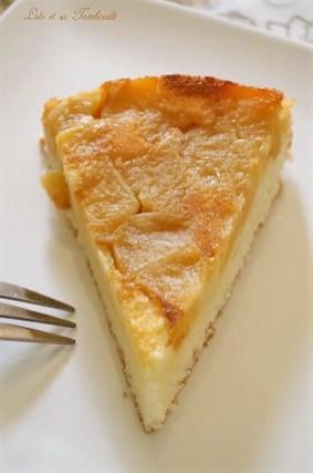 Gâteau moelleux au yaourt & pommes caramélisées (6)