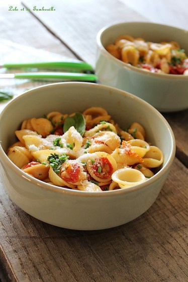 Pâtes aux tomates rôties (4)