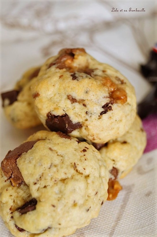 Cookies au chocolat...