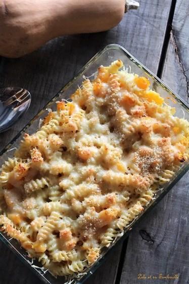 Gratin de pâtes au butternut & comté (4)