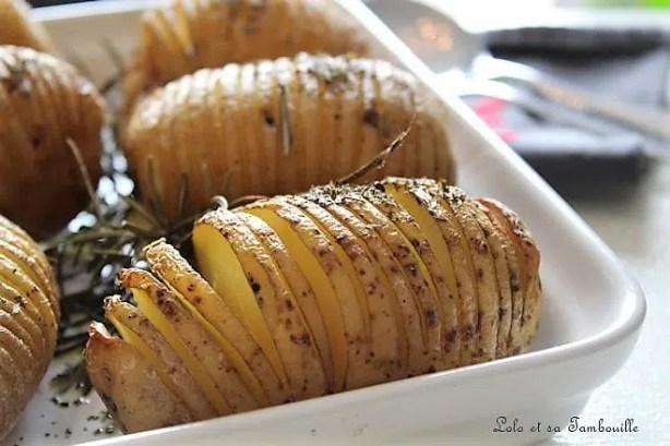 De bien jolies & savoureuse pommes de terre !