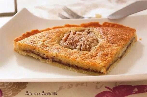 Tarte amandine aux poires & Nutella®