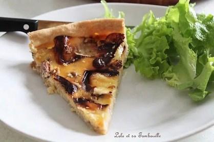 Quiche au camembert & miel (4)