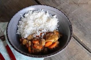 Sauté de veau aux champignons & carottes (2)