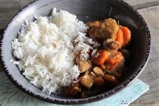 aux champignons & carottes...