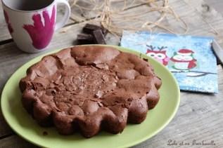 Gâteau au chocolat & fromage blanc (2)