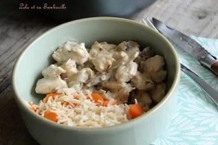 Sauté de dinde aux champignons (3)