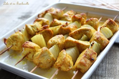 Brochettes de dinde aux épices (5)