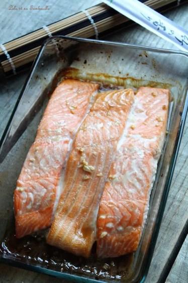 Saumon glacé au sirop d'érable (3)