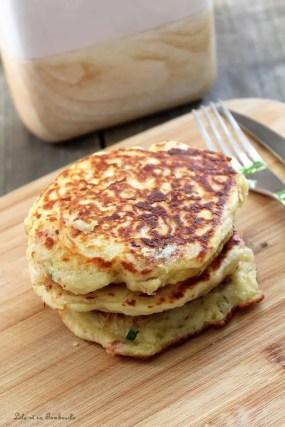 Pancakes au lait ribot...