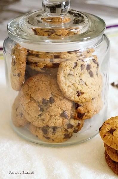 Cookies aux noisettes & pépites de chocolat (4)