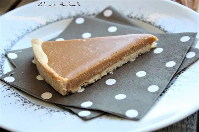 Tarte aux noisettes & chocolat Dulcey