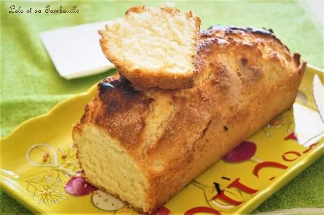 Gâteau au yaourt {de Christophe Felder}