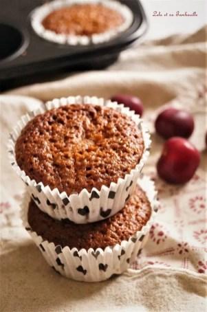 Muffins aux cerises & noisettes 2 (6)